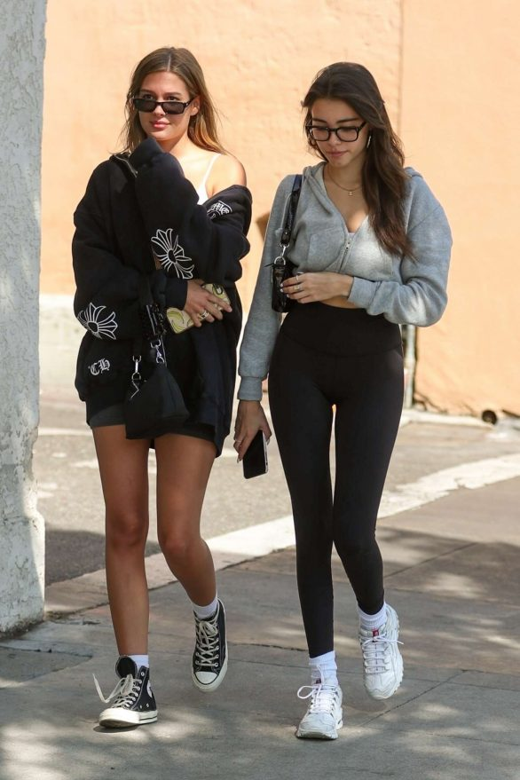 Madison Beer and Isabella Jones - Shopping candids in Beverly Hills