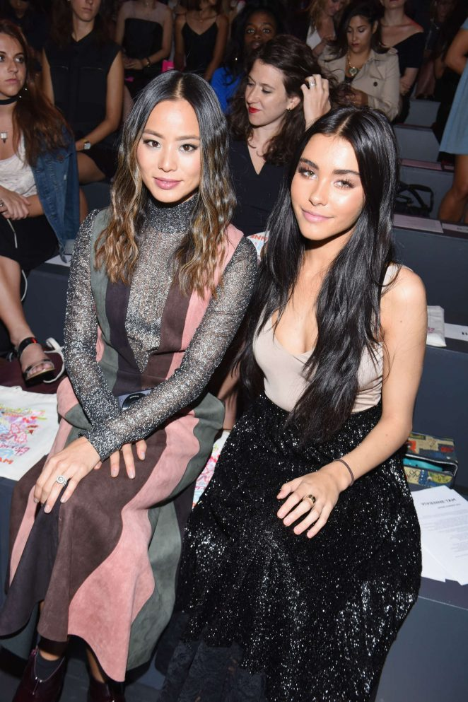 Madison Beer and Jamie Chung - Vivienne Tam Fashion Show at 2016 NYFW in NYC