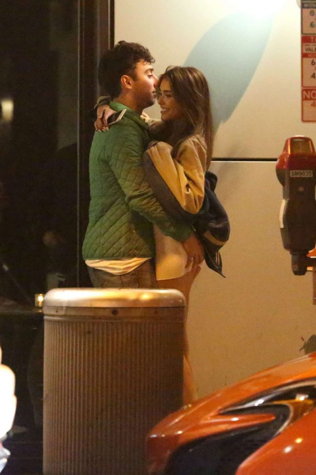 Madison Beer and Zack Bia - Leaving the Doheny Room in West Hollywood