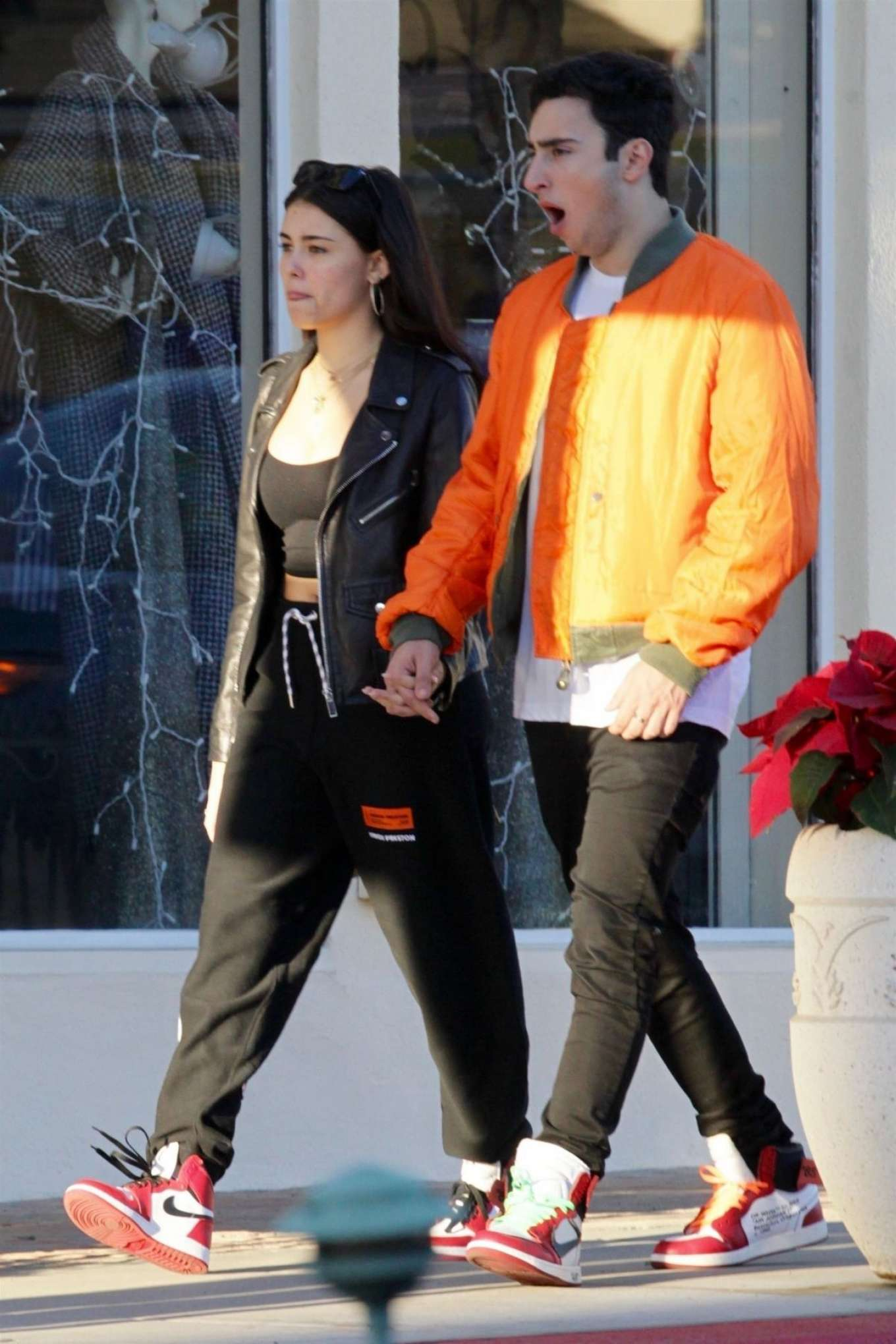 Madison Beer and Zack Bia - Out for lunch in Beverly Hills