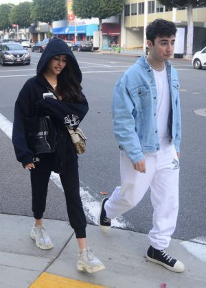 Madison Beer and Zack Bia - Shopping at XIV Karats in Beverly Hills