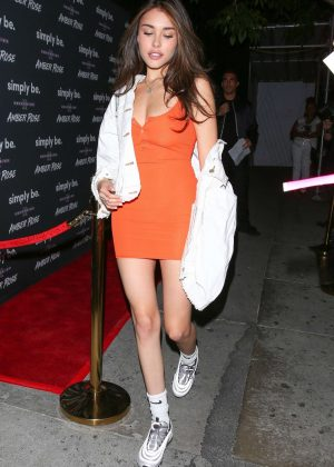 Madison Beer - Arrives at Boosty Bellows nightclub in West Hollywood