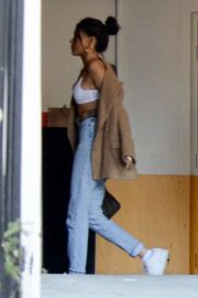 Madison Beer - Arrives at her office in LA