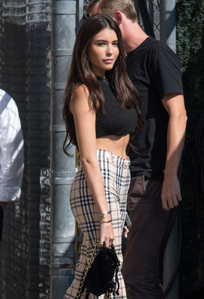 Madison Beer - Arrives at Jimmy Kimmel Live in Hollywood