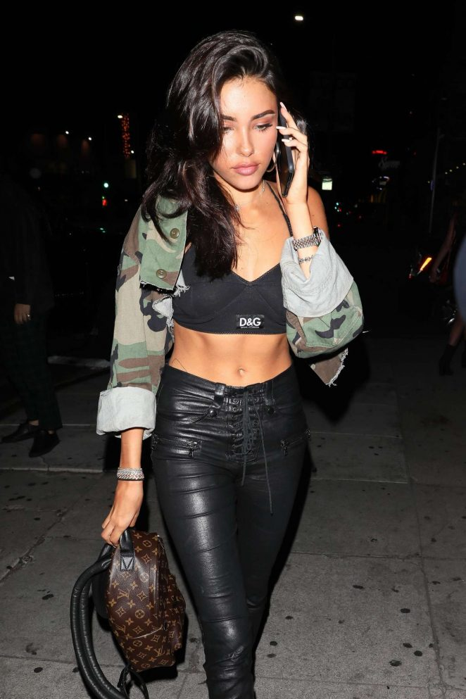 Madison Beer - Arrives at The Nice Guy in West Hollywood