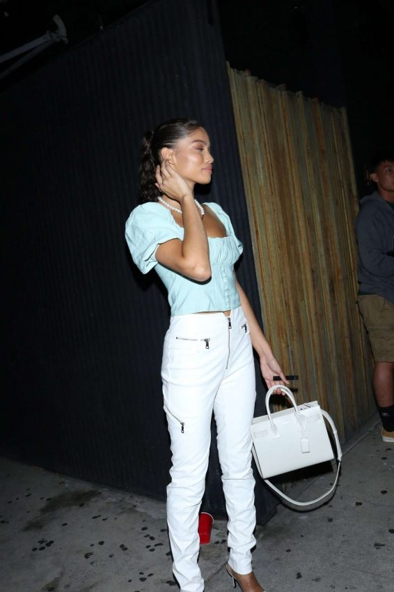 Madison Beer - arrives at The Nice Guy nightclub in West Hollywood