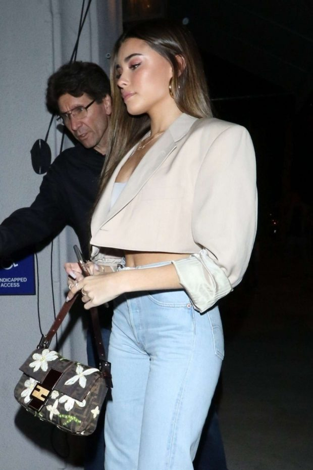Madison Beer - Arrives for dinner at Craig's restaurant in West Hollywood