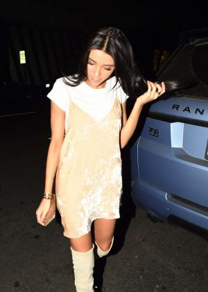 Madison Beer - Arrives to Mr. Chows in Los Angeles