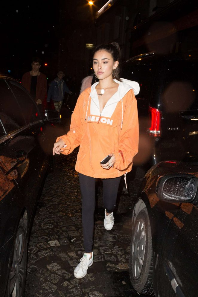 Madison Beer at a night club in Paris -01