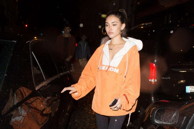 Madison Beer at a night club in Paris -11