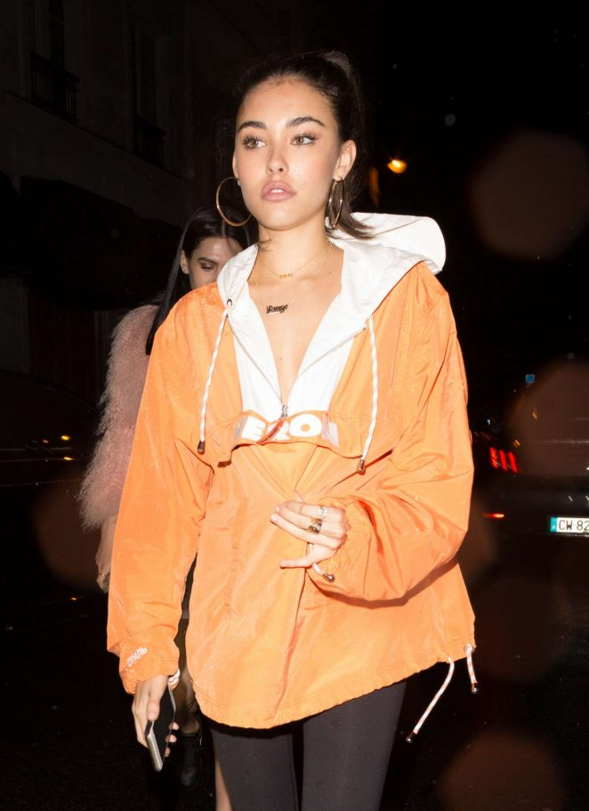 Madison Beer at a night club in Paris -12