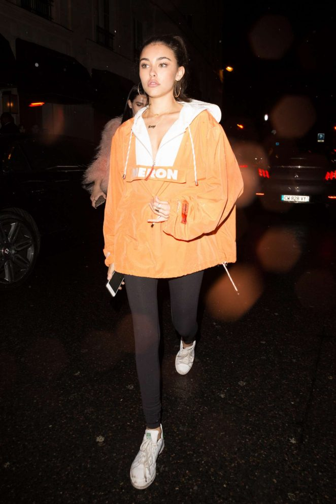 Madison Beer at a night club in Paris -15
