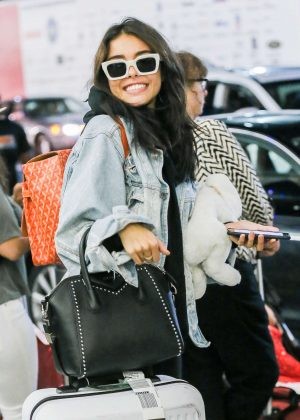 Madison Beer at JFK Airport in NYC