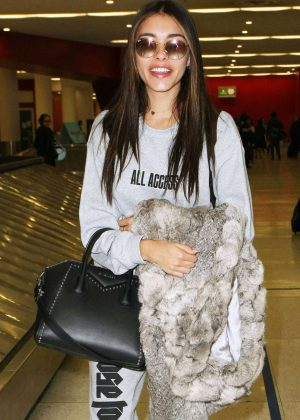 Madison Beer at LAX Airport in LA