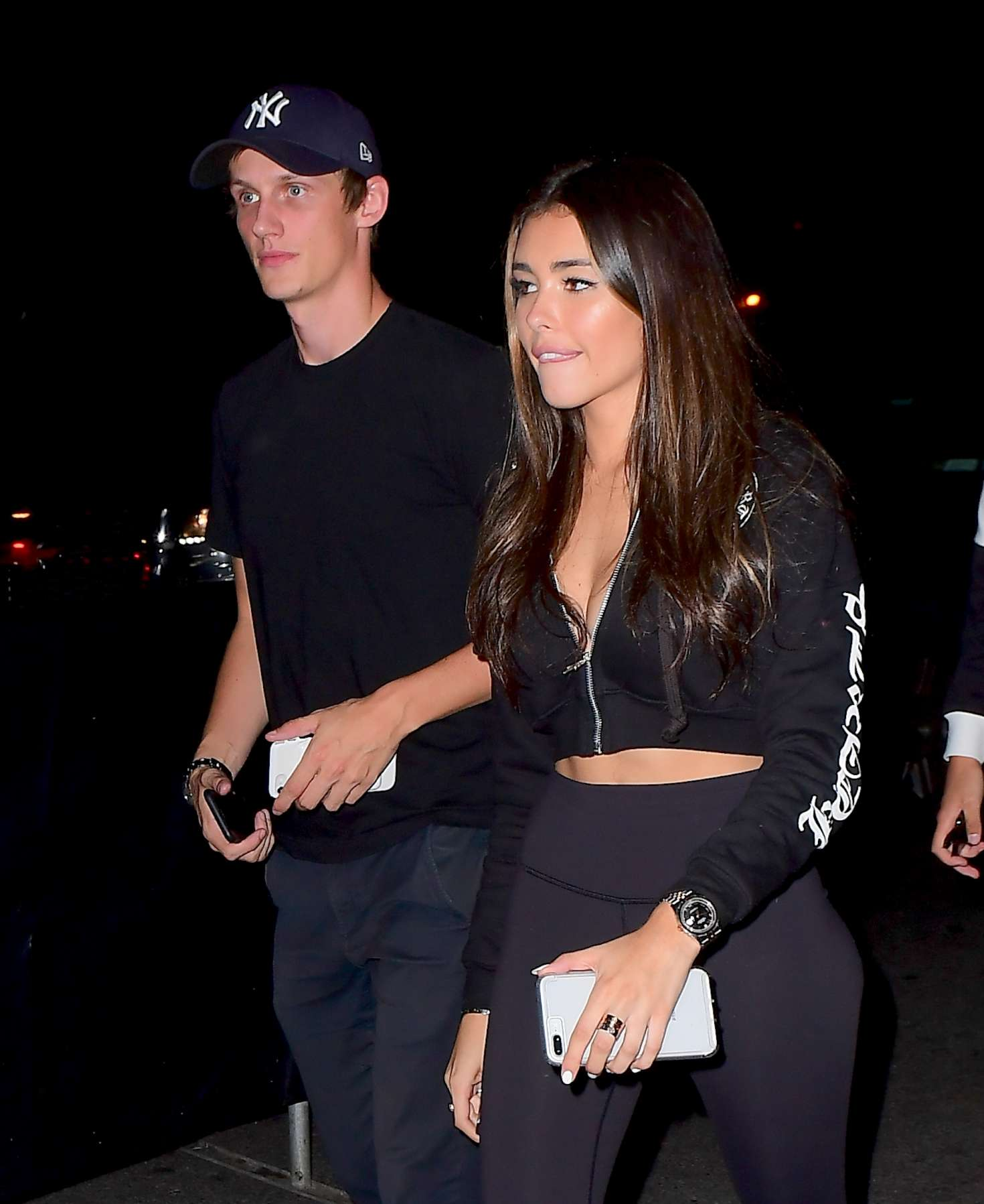 Madison Beer at Marquee Nightclub in NYC