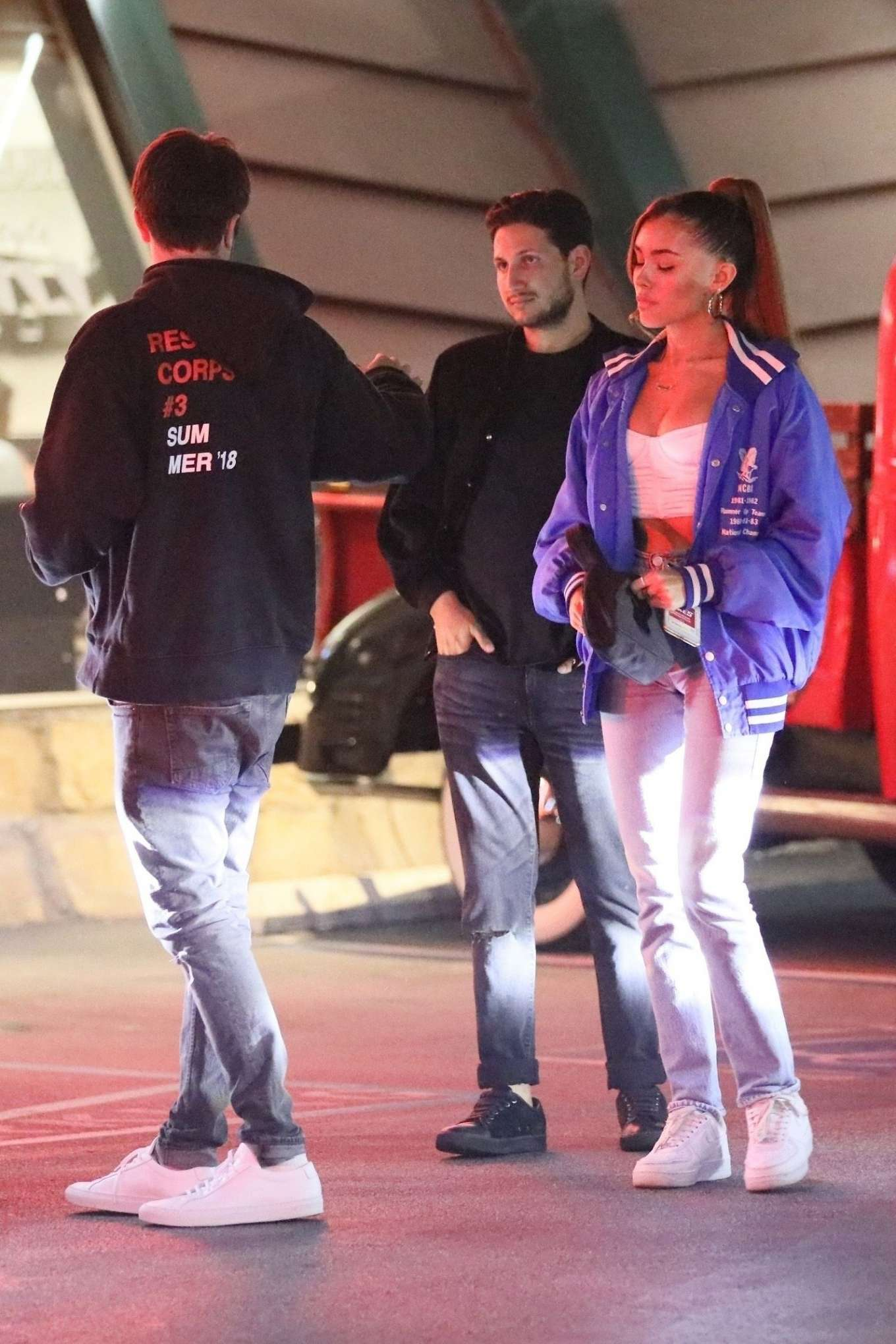 Madison Beer 2019 : Madison Beer at Mels Diner with friends-02