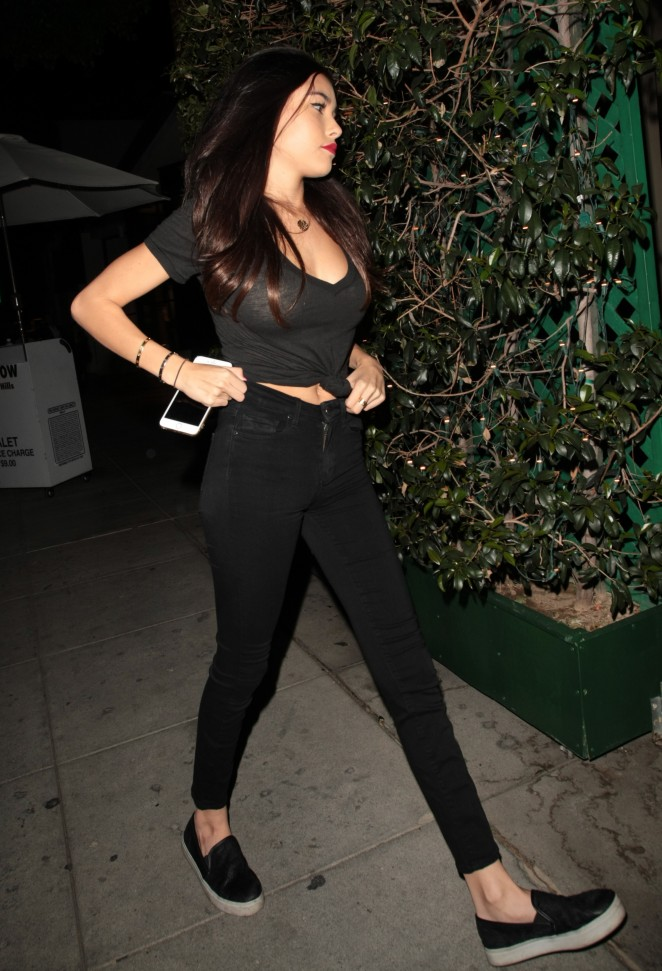 Madison Beer at Mr Chow Restaurant in Beverly Hills