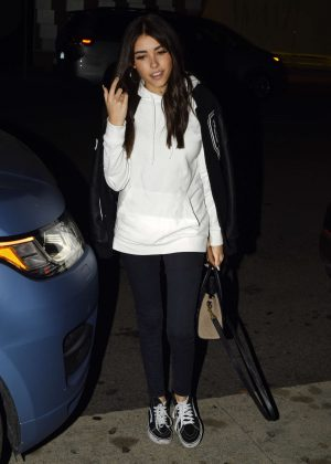 Madison Beer at Mr Chows in Beverly Hills