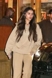 Madison Beer at the Sunset Tower Hotel in West Hollywood