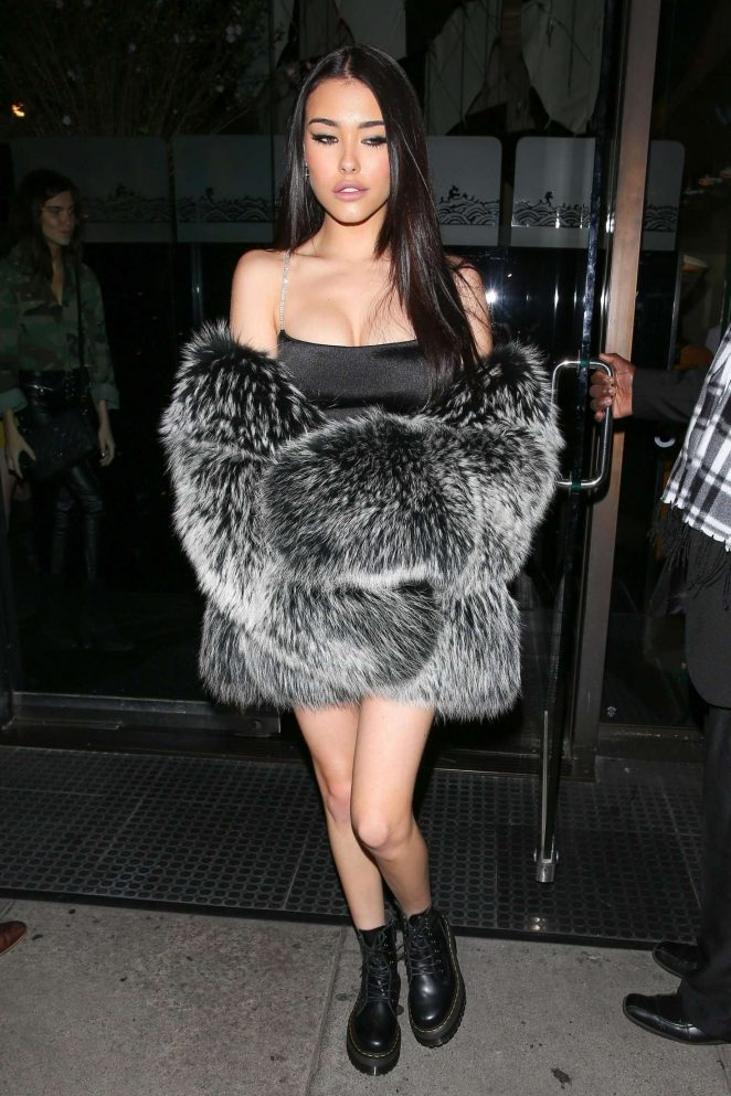 Madison Beer – Celebrates her 19th birthday at Mr Chow in Beverly Hills
