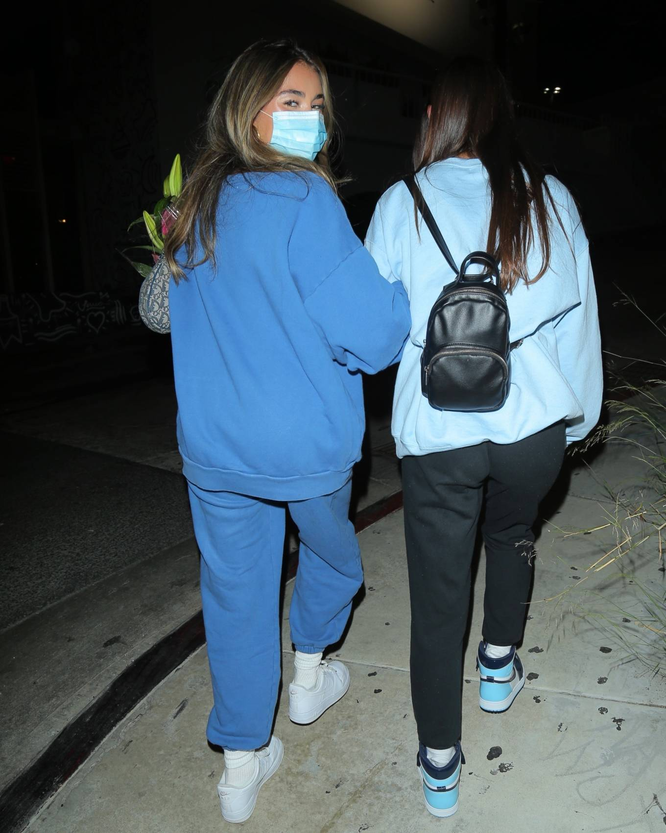 Madison Beer - Dinner with friends in West Hollywood