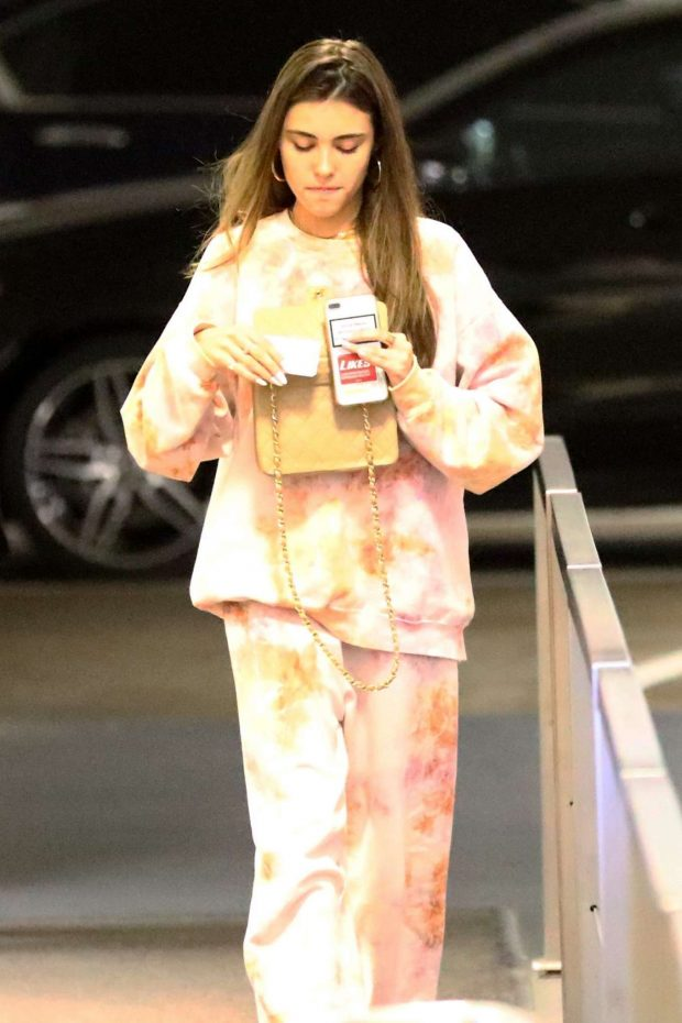 Madison Beer - Goes to an office in Beverly Hills