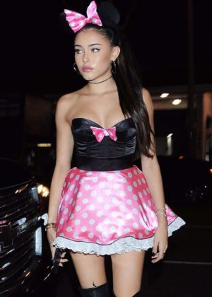 Madison Beer - Halloween party at Delilah in West Hollywood