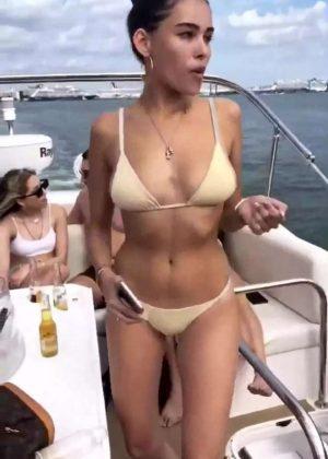 Madison Beer in Bikini - Social Media Pics