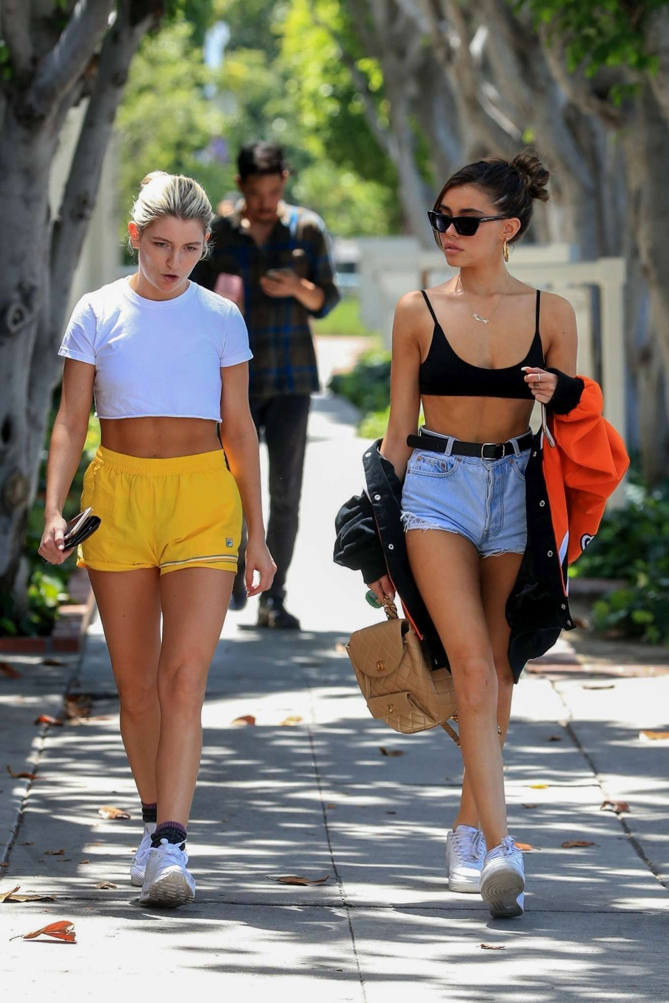 Madison Beer 2019 : Madison Beer in Shorts and Crop Top-05