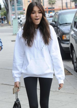 Madison Beer in Tights Out in Los Angeles
