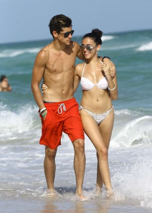 Madison Beer: In White Bikini at a Beach in Miami (adds)-114