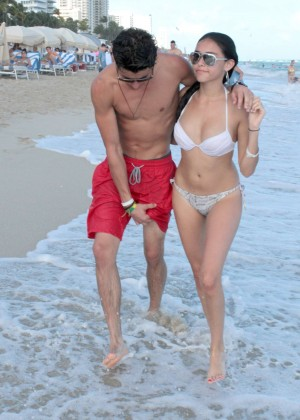 Madison Beer: In White Bikini at a Beach in Miami (adds)-52