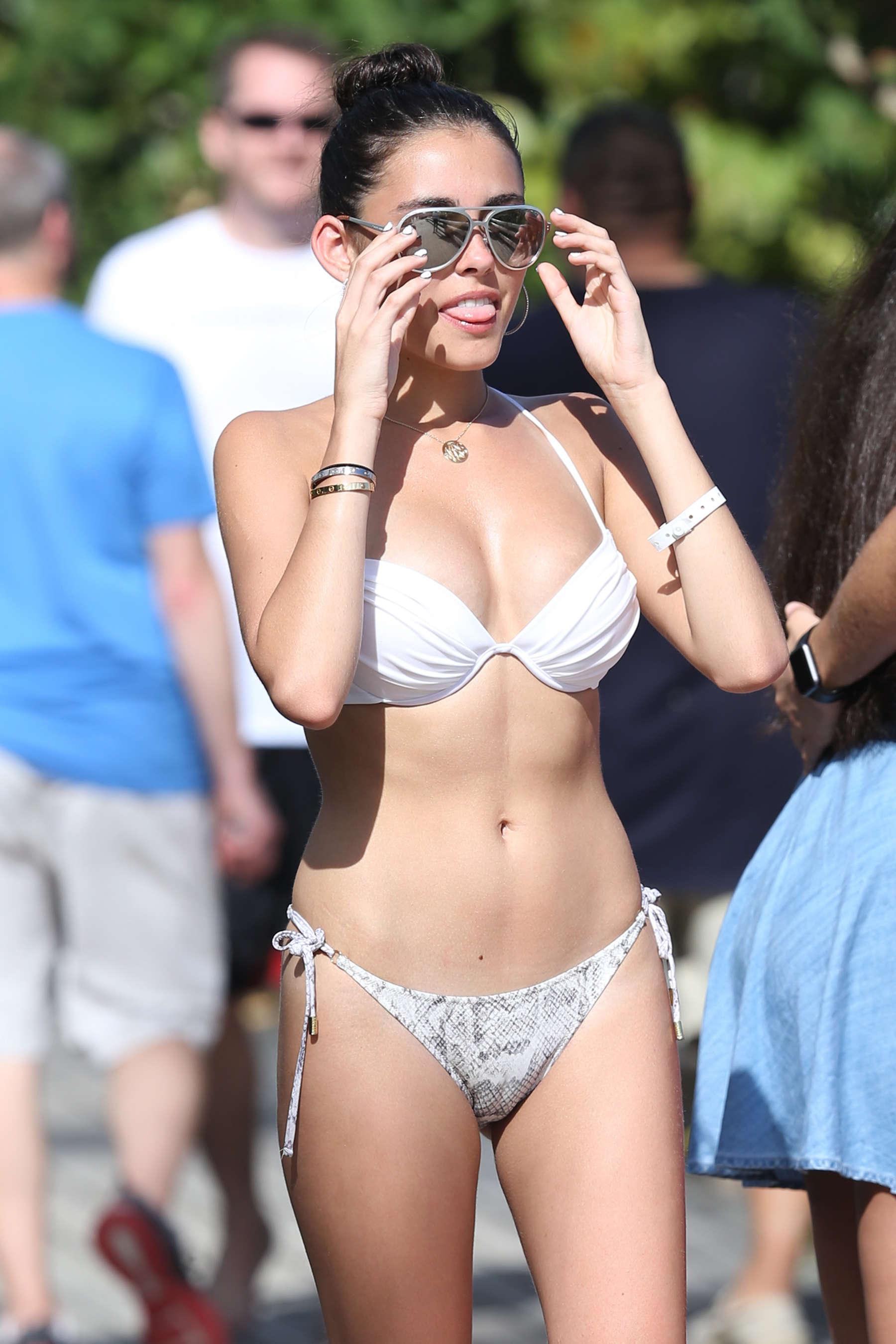 Madison Beer 2015 : Madison Beer in White Bikini -49