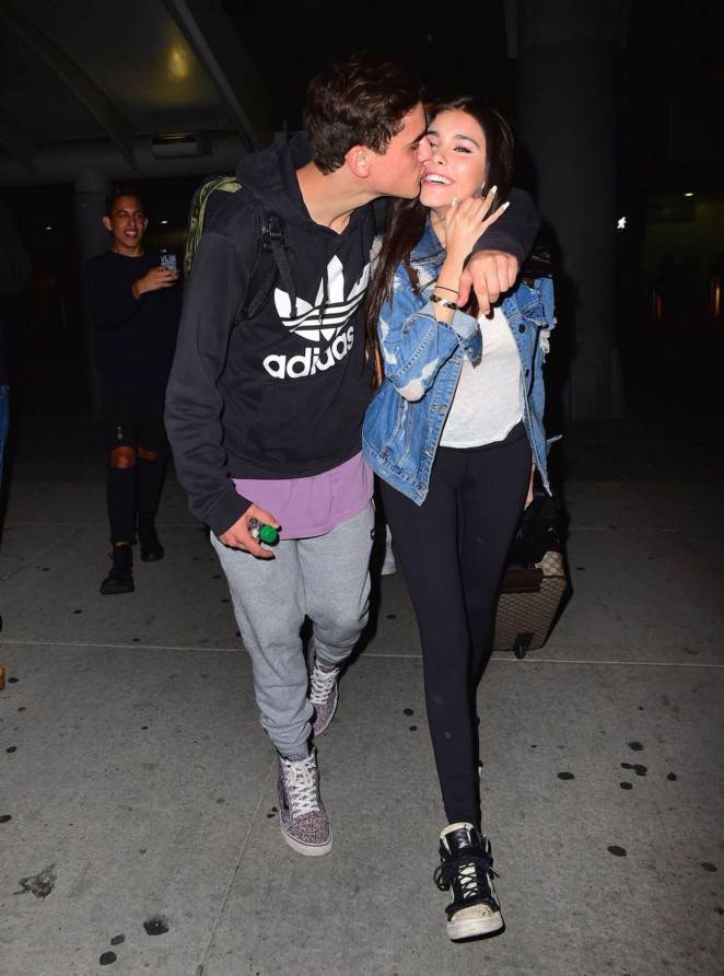 Madison Beer - JFK airport in NYC