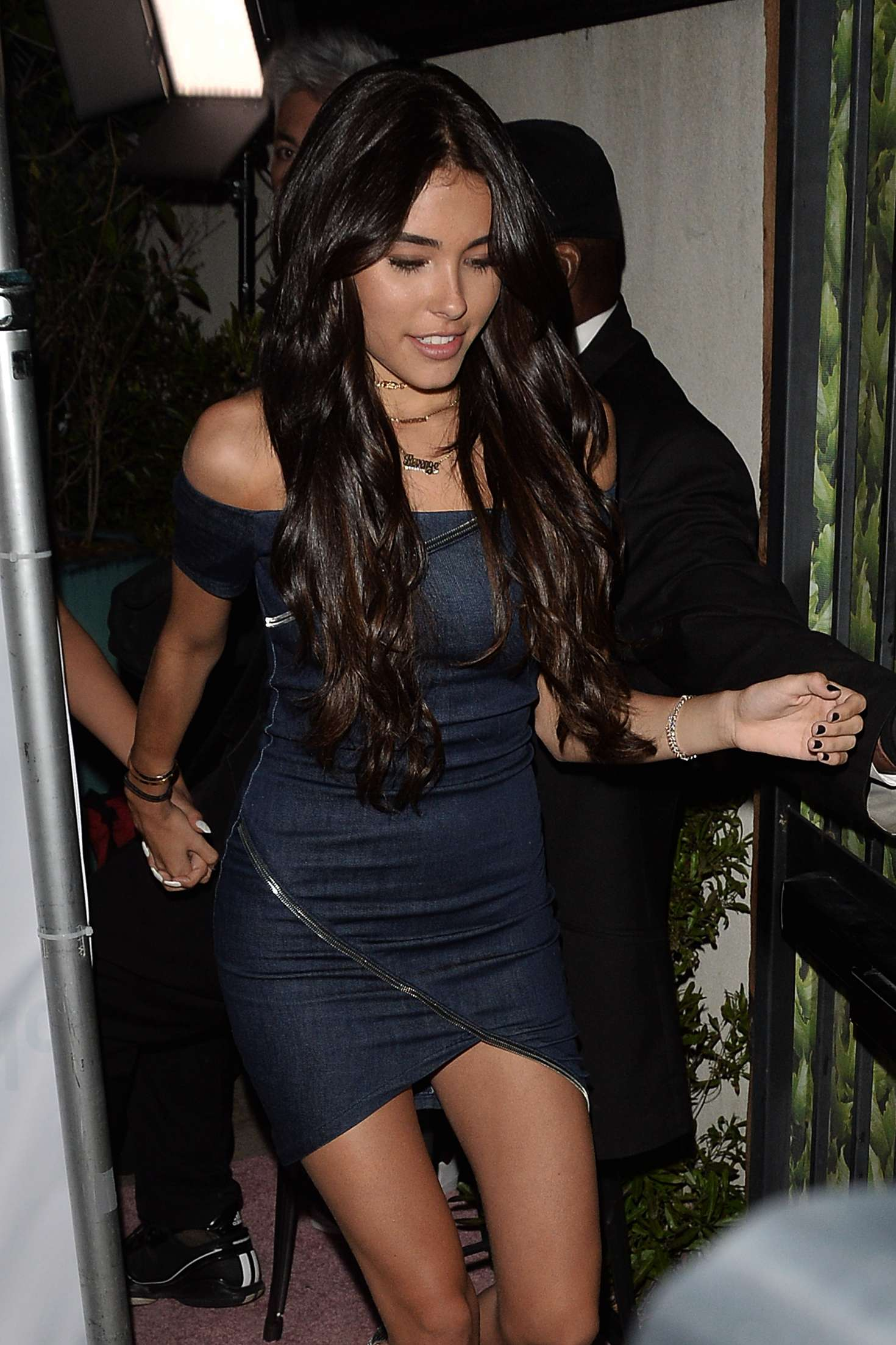 Madison Beer - Leaves a Party in West Hollywood