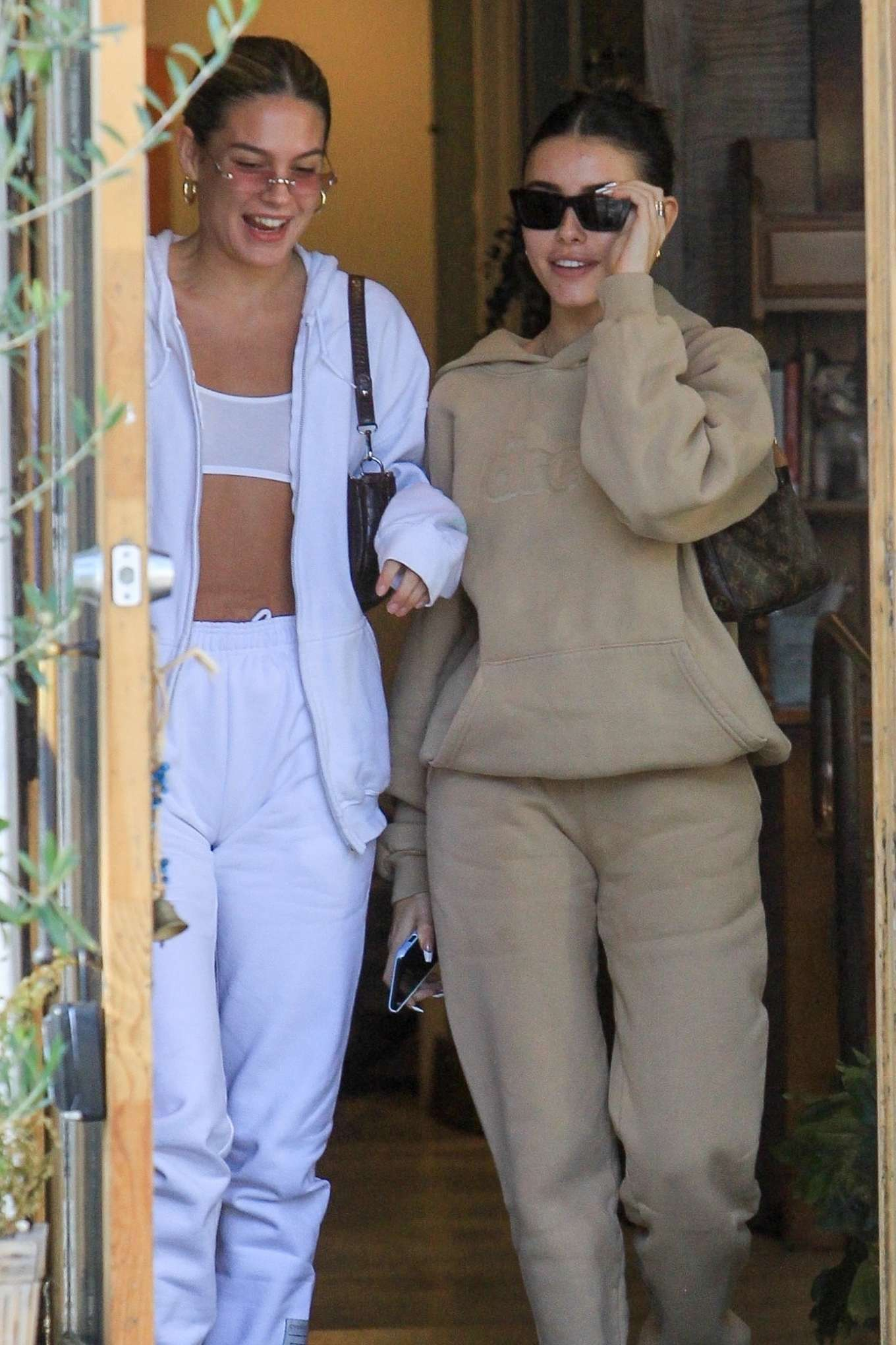 Madison Beer - Leaves Croft Alley in Beverly Hills