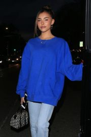 Madison Beer - Leaves Il Pastaio in Beverly Hills