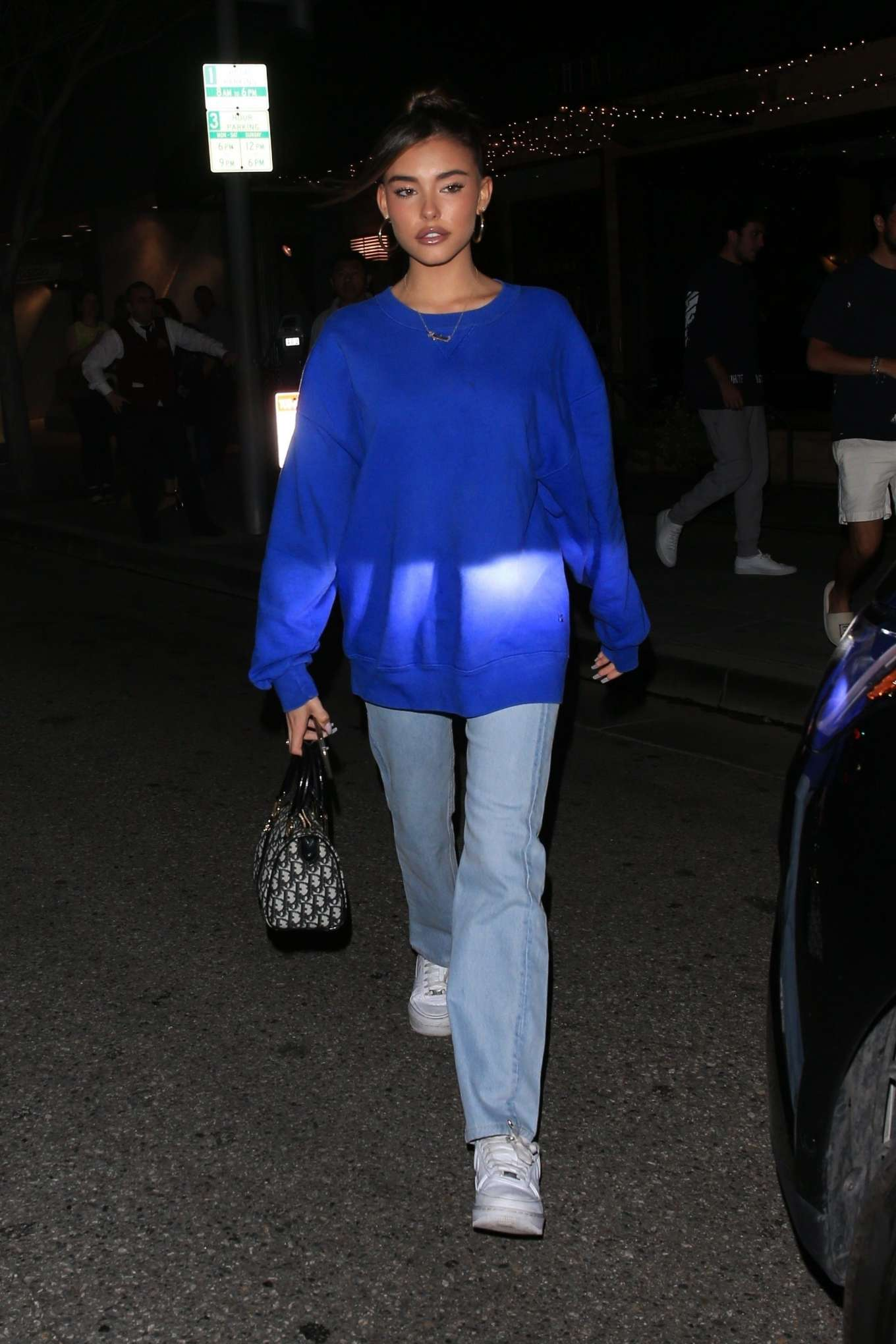 Madison Beer: Leaves Il Pastaio-05