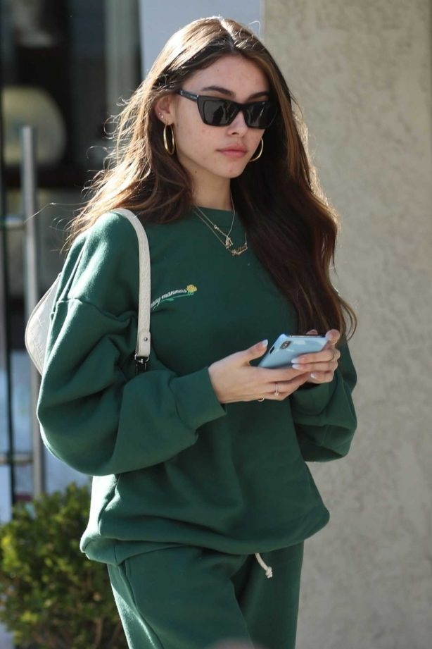 Madison Beer - Leaves lunch with friends at Croft Alley in Beverly Hills
