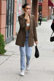 Madison Beer - Leaving Anastasia Spa in Beverly Hills