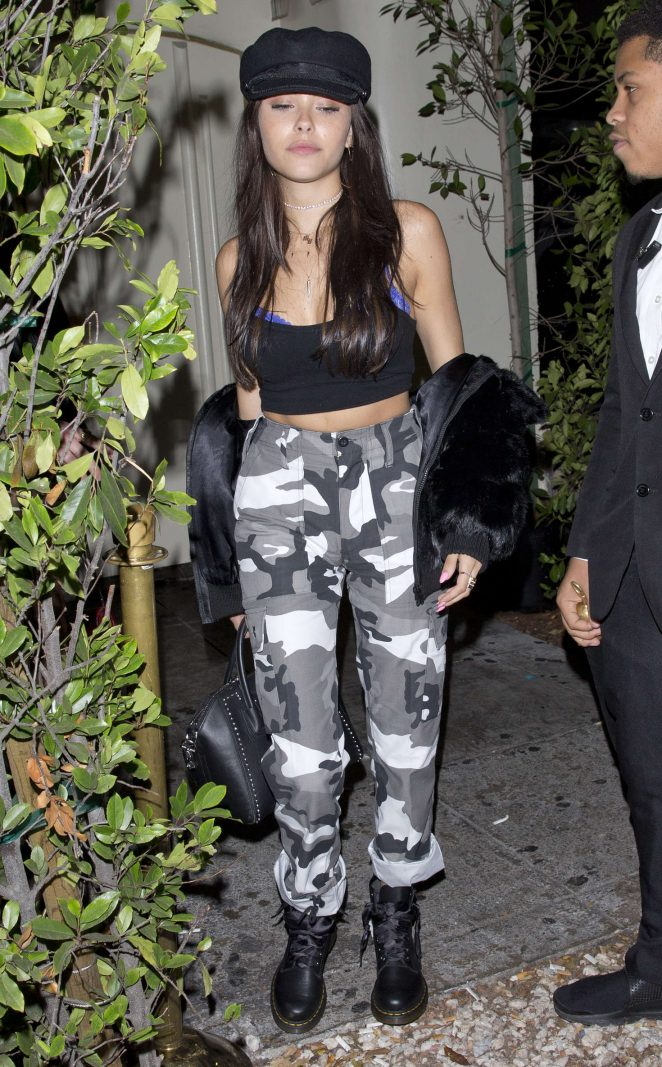 Madison Beer - Leaving 'Delilah' Night Club in West Hollywood