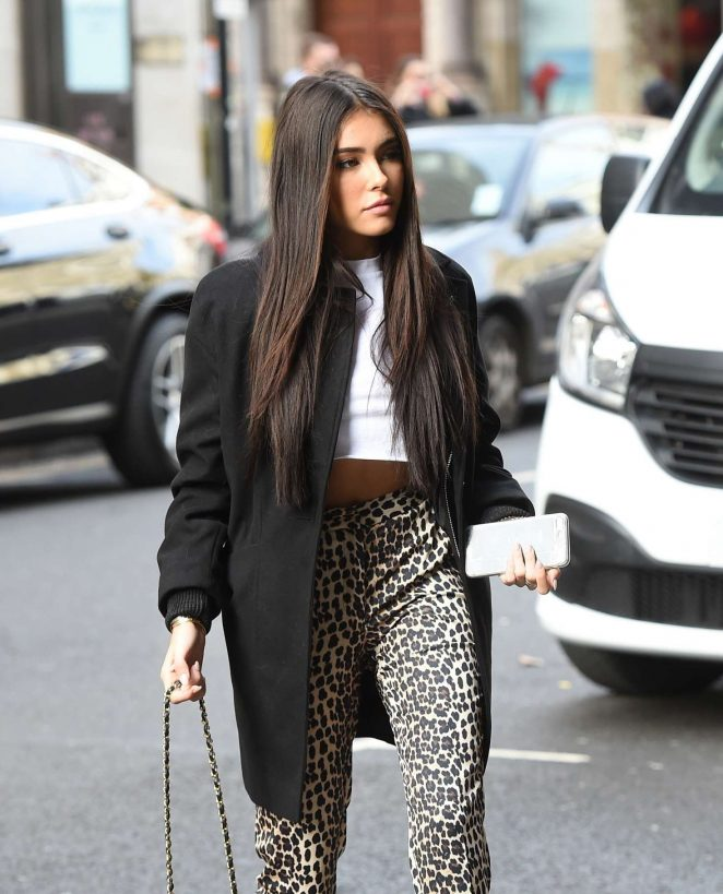 Madison Beer - Leaving the VEVO offices in London