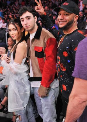 Madison Beer - Los Angeles Lakers and the Phoenix Suns Game in LA