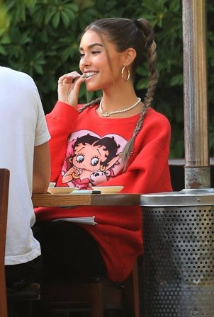 Madison Beer - Lunch at Matsuhisa after set of her new single 'BABY' in Beverly Hills