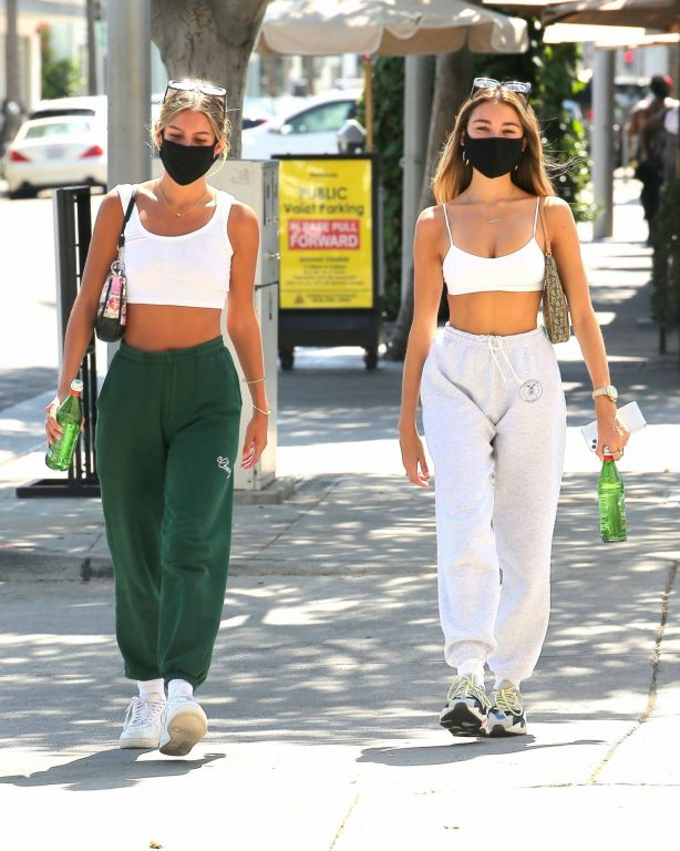 Madison Beer - Lunch with her friend in Beverly Hills