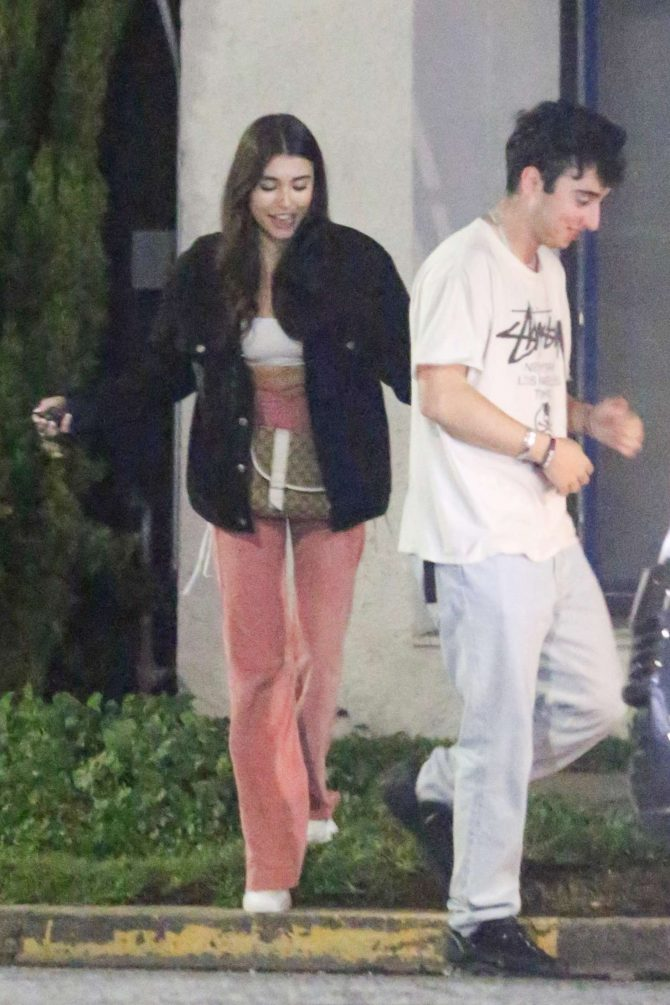 Madison Beer – Night out in West Hollywood