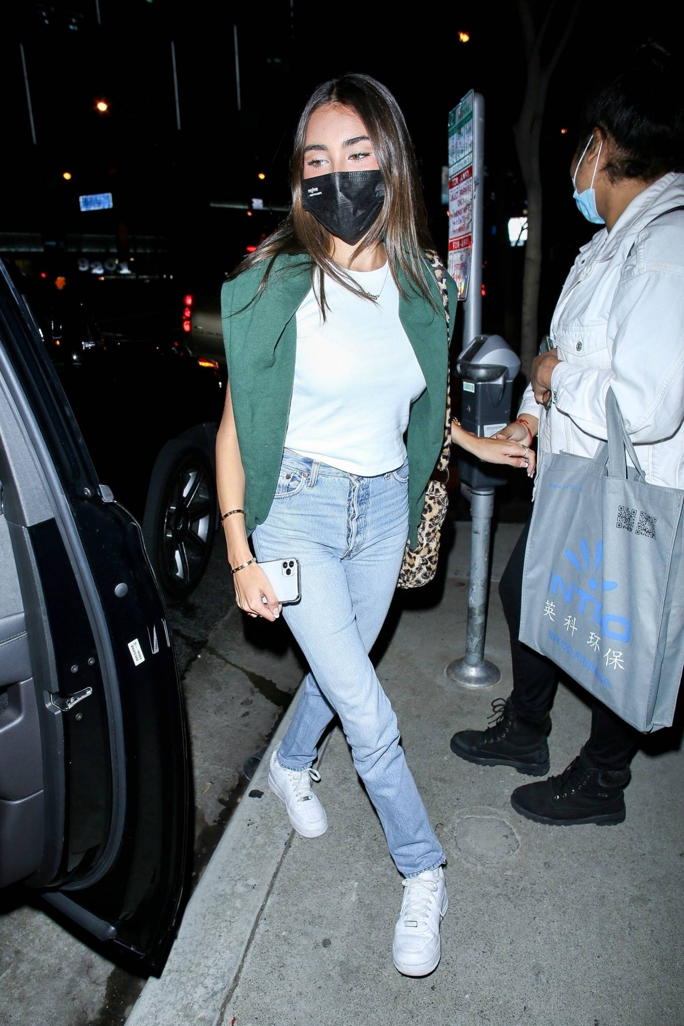 Madison Beer - Night out - Leaving BOA Steakhouse in West Hollywood