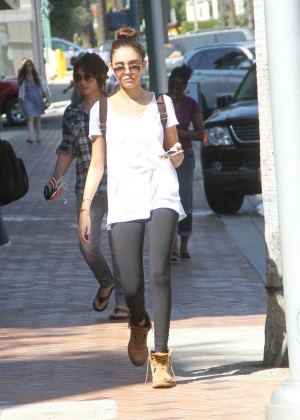 Madison Beer in Tights Out in Beverly Hills