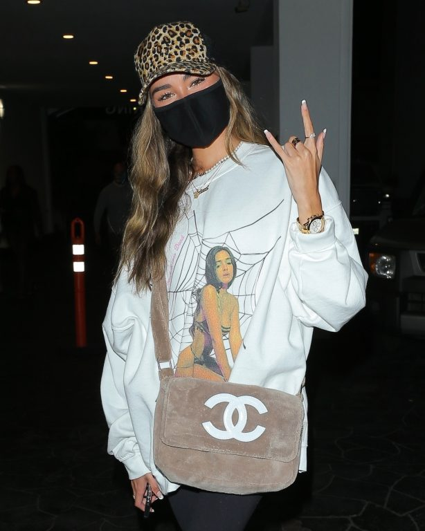 Madison Beer - Out for a dinner in Beverly Hills