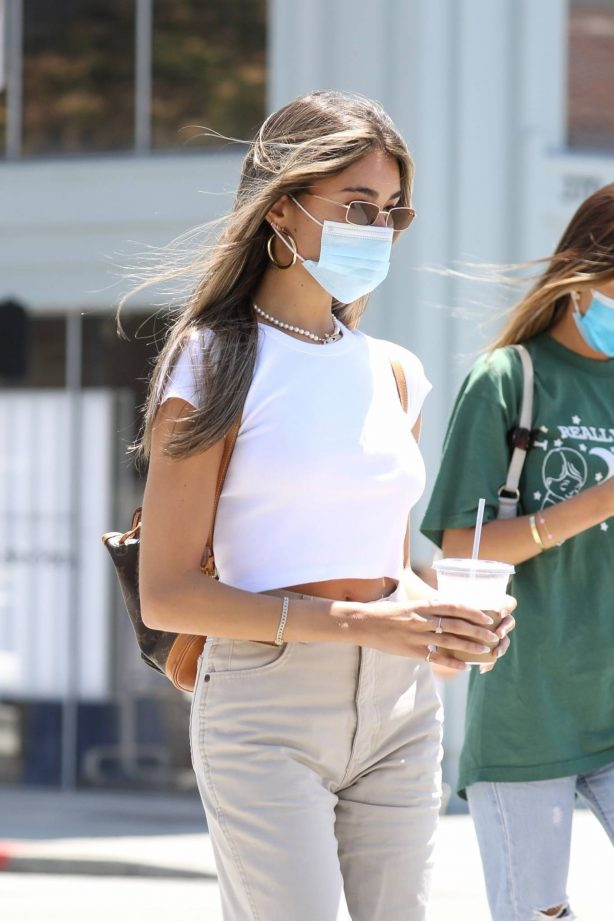 Madison Beer - Out for breakfast in Beverly Hills